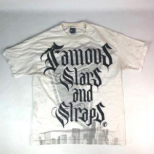 Famous Stars & Straps Graphic White T-shirt
